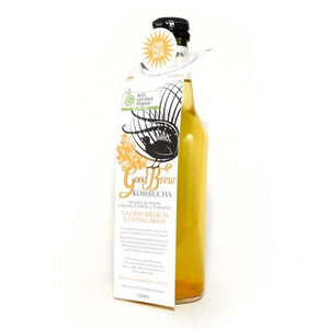 Orange Blossom, Passion Flower and Turmeric Kombucha