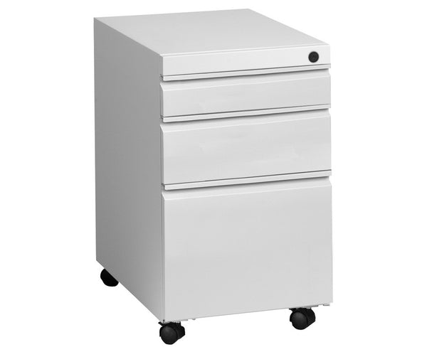 3-Drawer File Pedestal