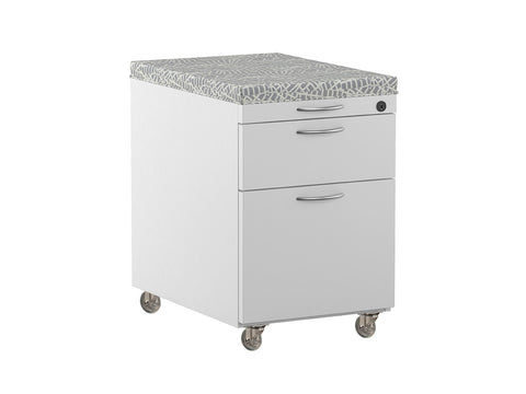 2-Drawer File w/cushion top