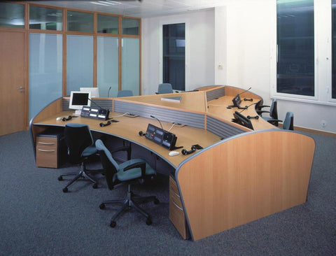 Curved Desk - Style 4