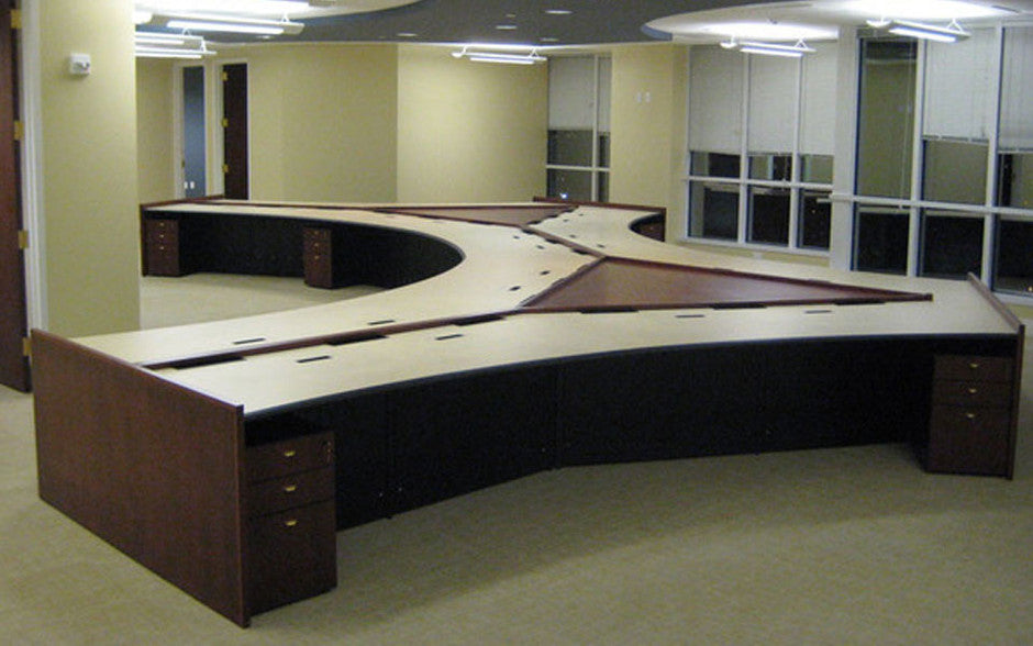 Curved Desks