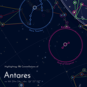 Figures in the Sky — Scorpius & Antares