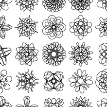Load image into Gallery viewer, Spirograph Grid — (A3)