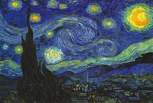 Starry Night Landscape Puzzle