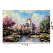 Load image into Gallery viewer, Dream Castle Landscape Puzzle