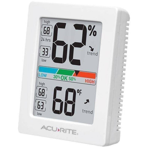 Image of Pro Accuracy Indoor Temperature and Humidity Monitor - Lifeline Pet Supplies