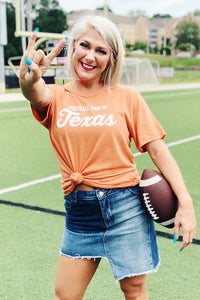 """Football Time in Texas"" Tee"