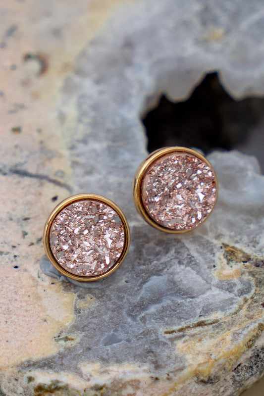 Glitter and Glam Stud Earrings