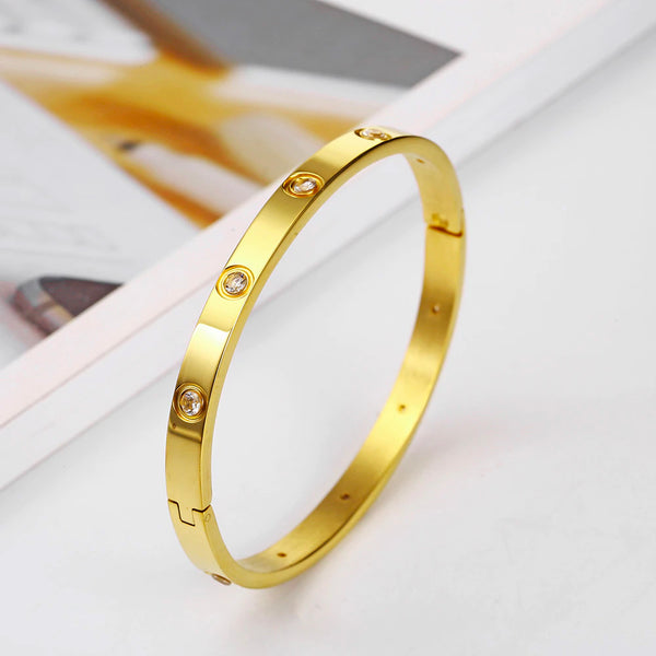Ethereal Golden Bangle