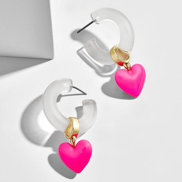 Rosè Love Earrings