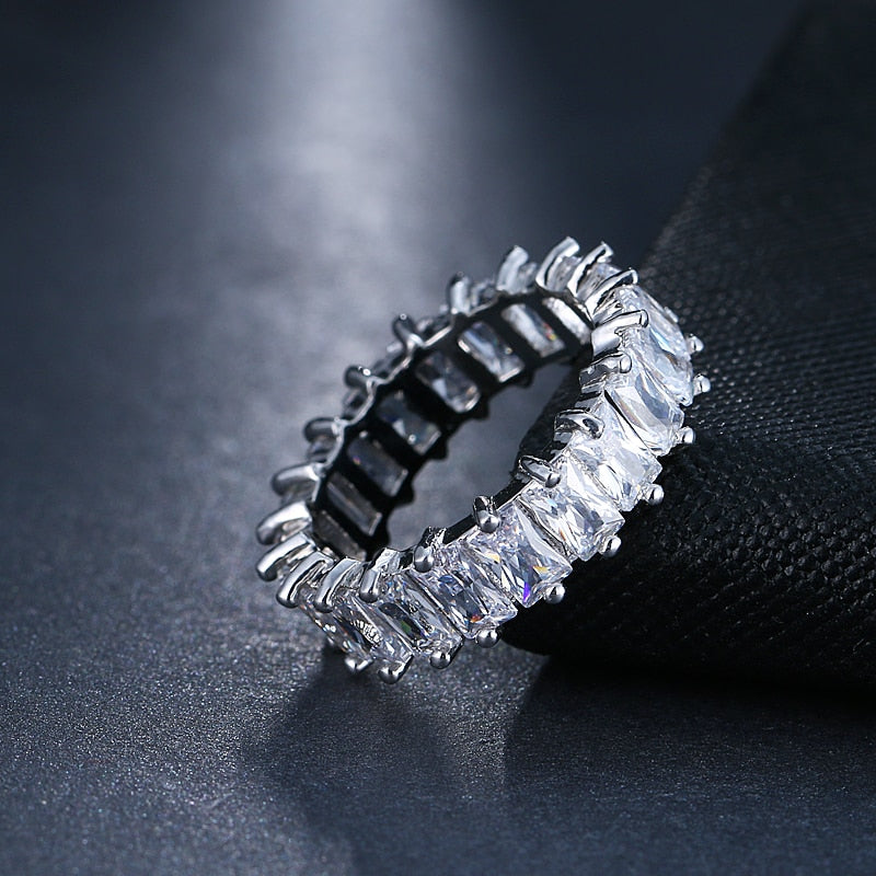 Platinum Crown Ring