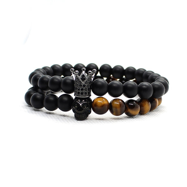 Tiger Eye Bracelet Set