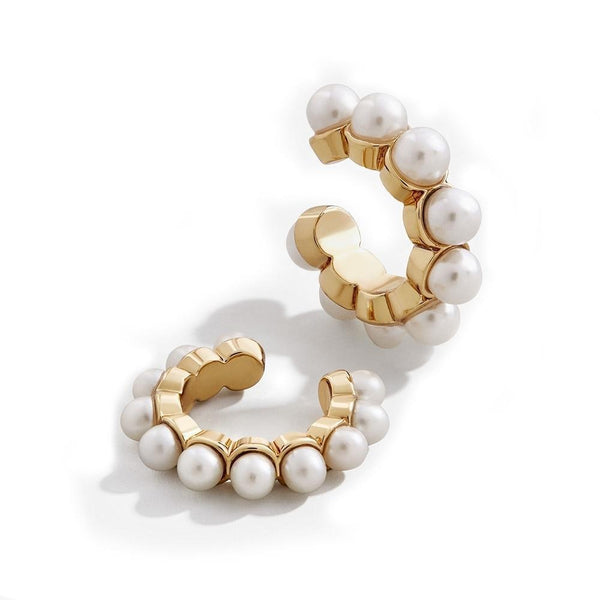 Greek Pearl Earrings