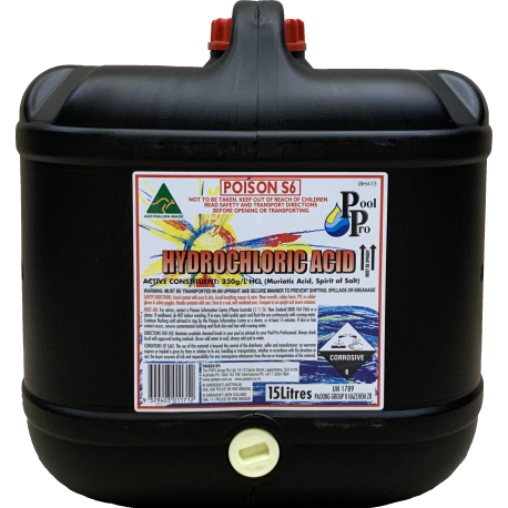 Acid - Liquid 15L (Includes $13 drum deposit, refundable in-store)