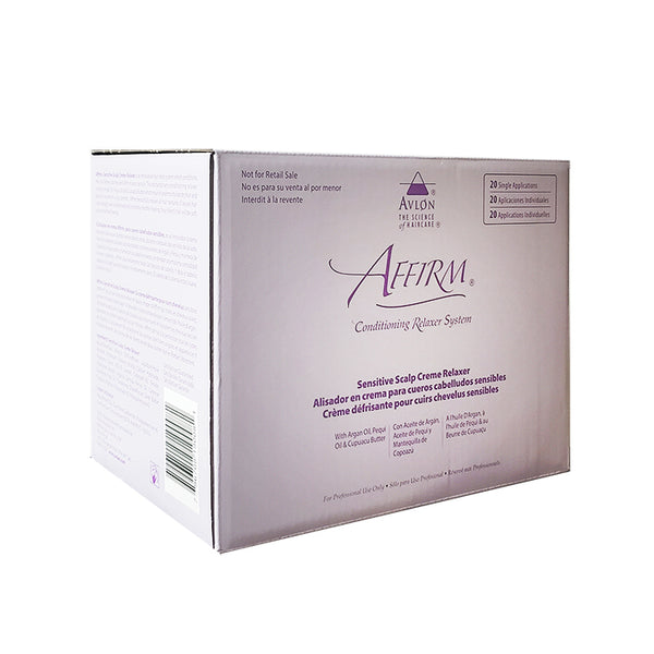 Affirm Sensitive Scalp Relaxer 20 Pack Kit