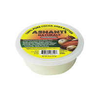 Ashanti Naturals 100% Pure & Smooth African Cocoa Shea Butter 8oz