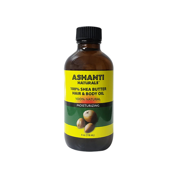 Ashanti Naturals 100% Shea Butter Hair & Body Oil 4oz