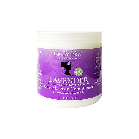 Camille Rose Lavender Quench Deep Conditioner 8oz