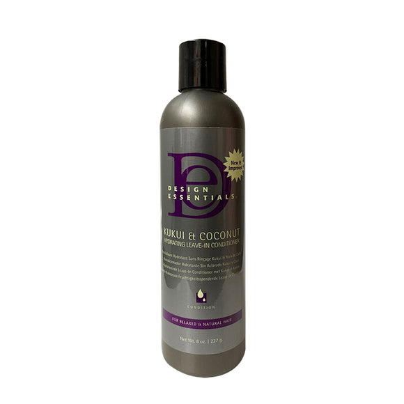 Design Essentials Kukui & Coconut Hydrating Leave-In Conditioner 8oz
