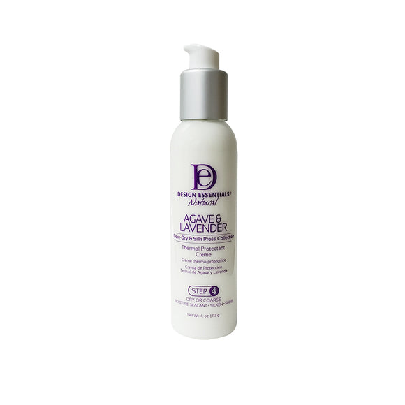 Design Essentials Agave & Lavender Thermal Protection Creme 4oz