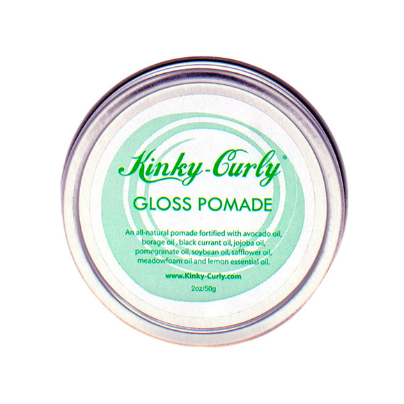 Kinky-Curly Gloss Pomade 2oz
