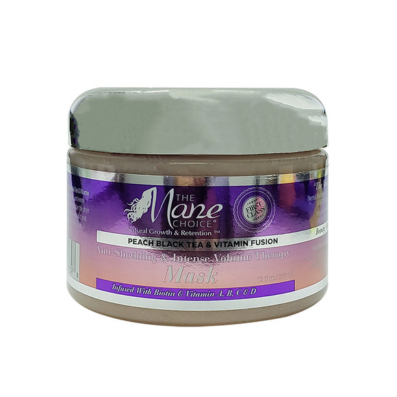 The Mane Choice Peach Black Tea & Vitamin Fusion Mask 12oz