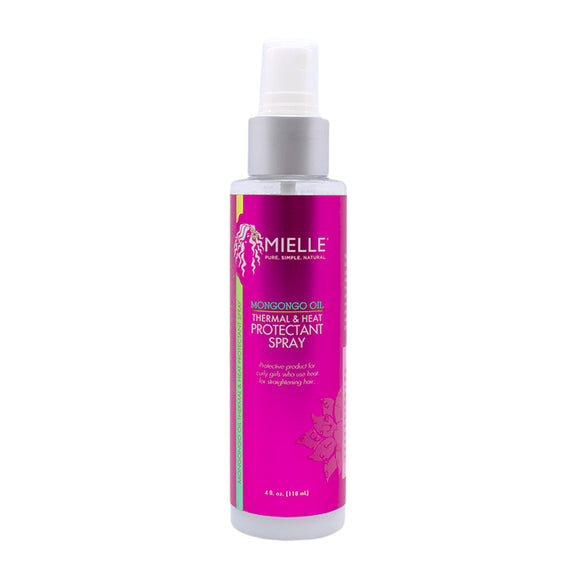 Mielle Mongongo Oil Thermal & Heat Protectant Spray 4oz