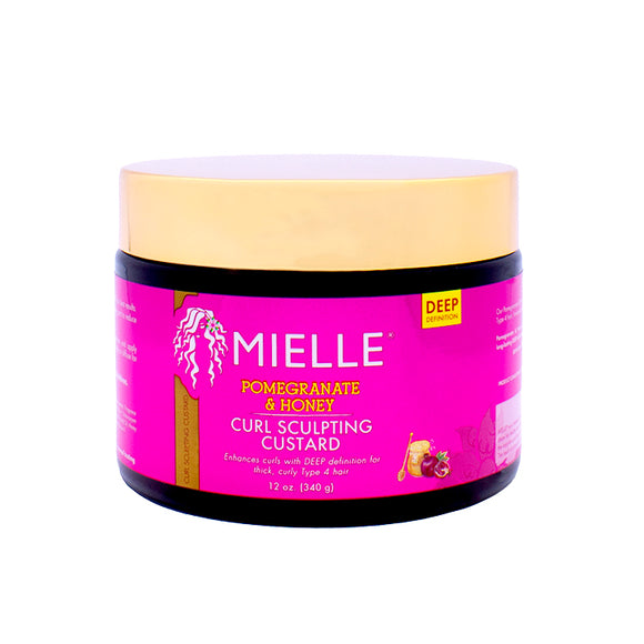 Mielle Pomegranate & Honey Curl Sculpting Custard 12oz