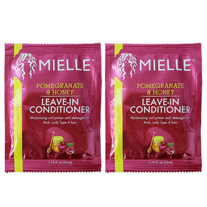 "Mielle Pomegranate & Honey Leave-In Conditioner 1.75oz ""Pack of 2"""