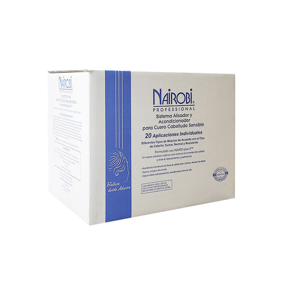 Nairobi Sensitive Scalp Hair Relaxer - 20 Pack