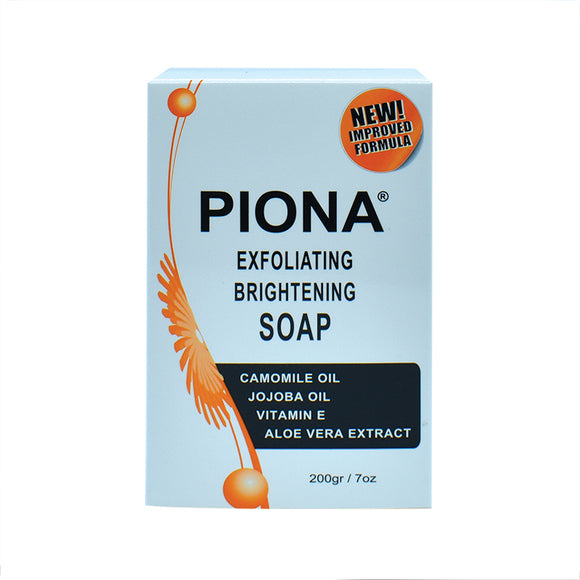 Piona Exfoliating Brightening Soap 7oz