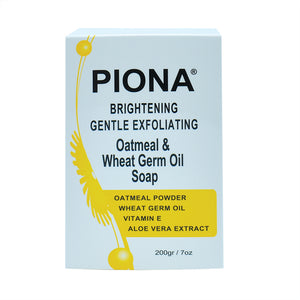 Piona Oatmeal & Wheat Germ Oil Soap 7oz