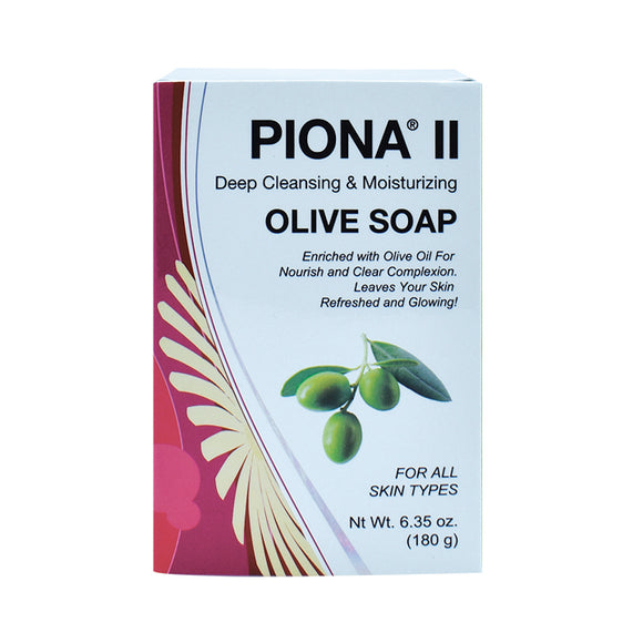 Piona II Deep Cleansing & Moisturizing Olive Soap 6.35oz