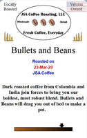 Bullets and Beans Coffee - 1 lb ground beans