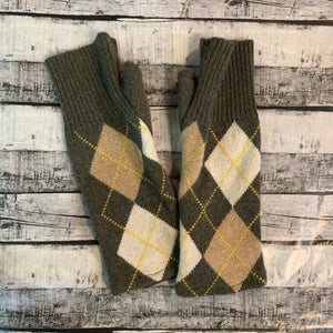 Gloves-Argyle