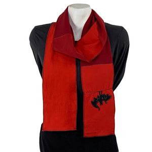 Applique Scarf-Bat