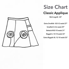 Load image into Gallery viewer, Classic Appliqué Skirt-Manatee