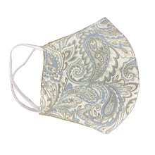 Load image into Gallery viewer, Face Mask-Grey Paisley