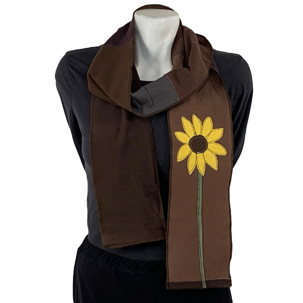 Applique Scarf-Sunflower