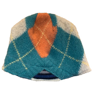 Wool Hat-Argyle