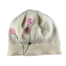 Load image into Gallery viewer, Wool Hat-Blooming Rose