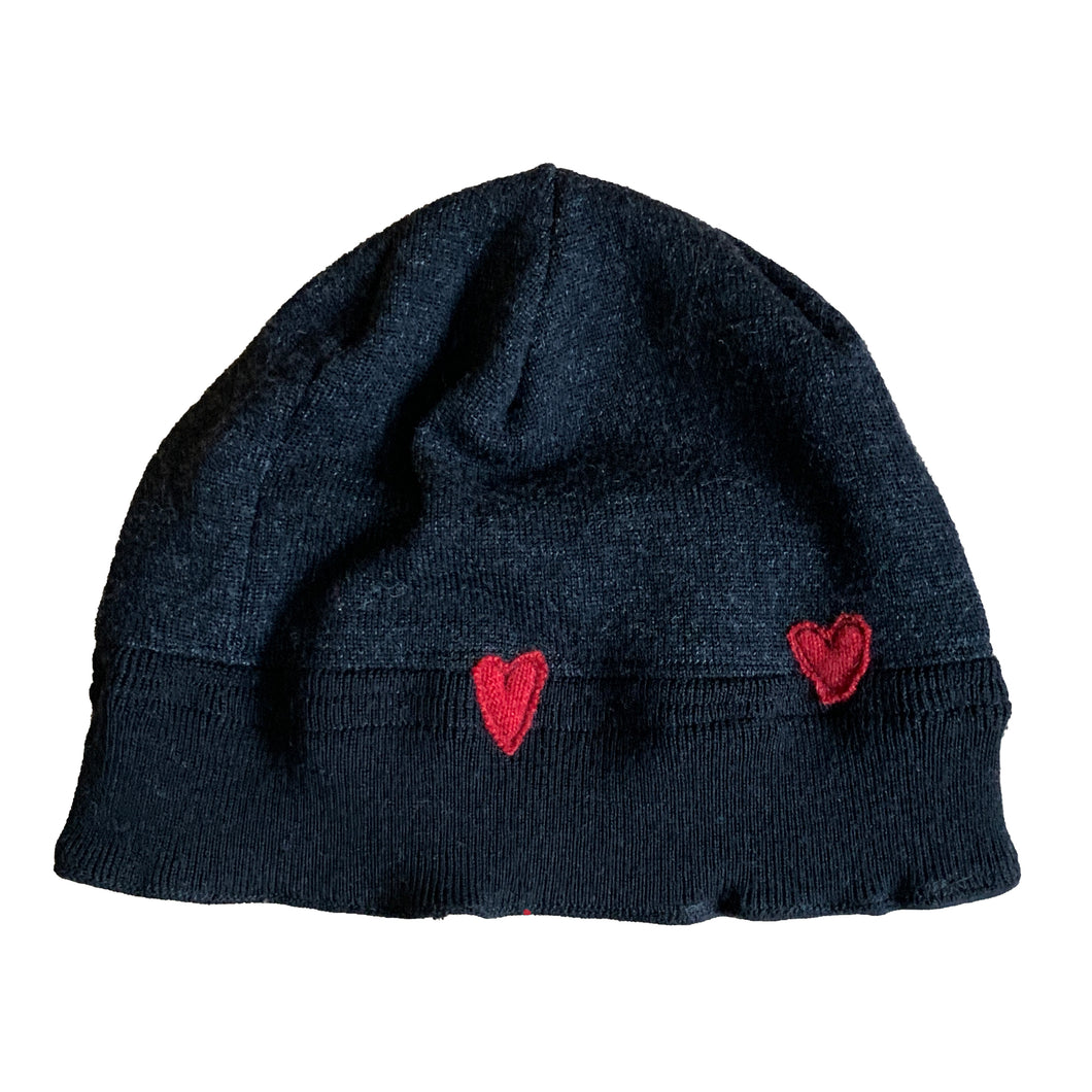 Wool Hat-Hearts