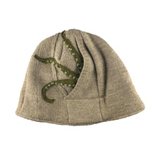 Load image into Gallery viewer, Wool Hat-Octopus Tentacle