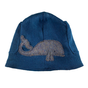 Wool Hat-Playful Whale