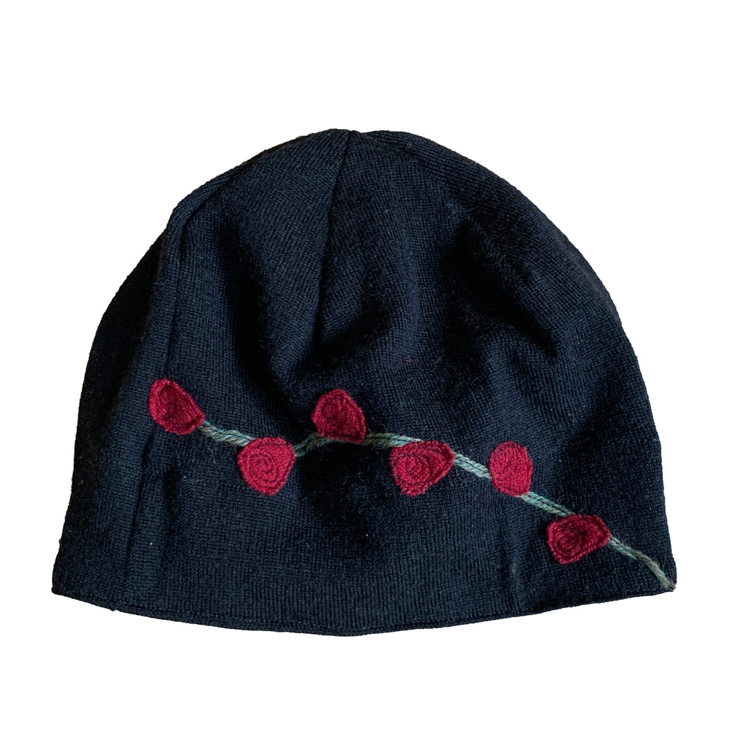 Wool Hat-Rosebud