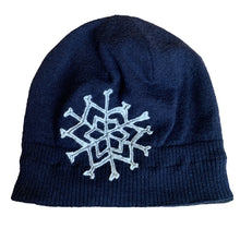 Load image into Gallery viewer, Wool Hat-Snowflake
