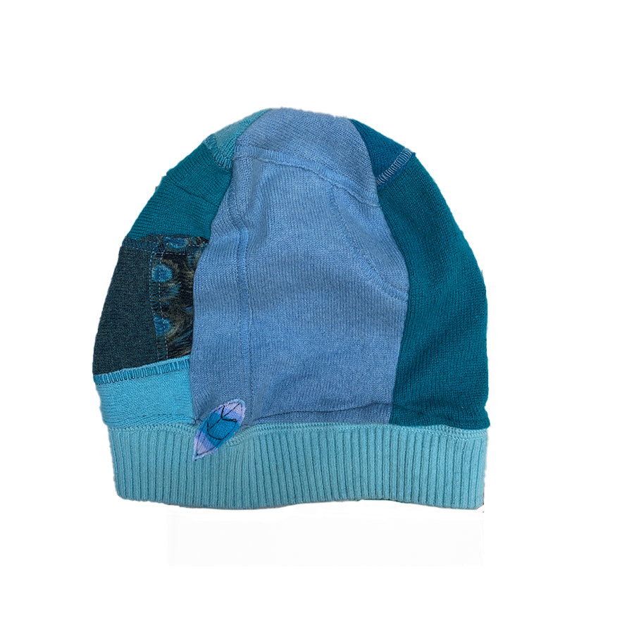 Cashmere Hat-Ocean Blues