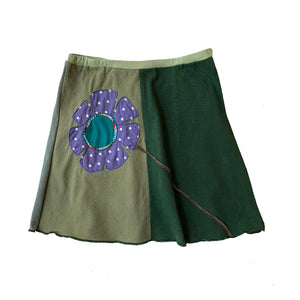 Kids Skirt-Big Flower
