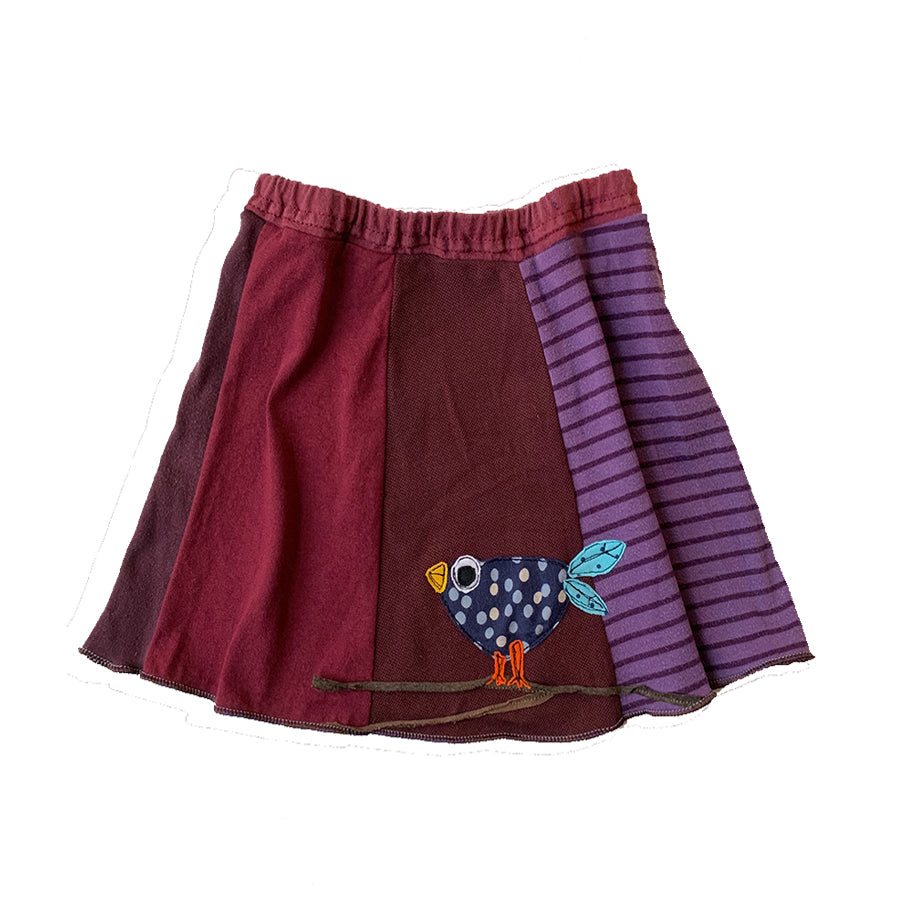 Kids Skirt-Cute Bird