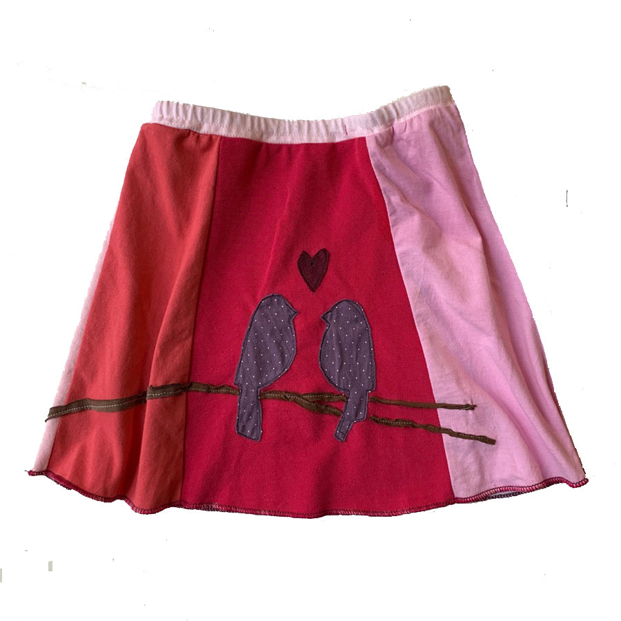 Kids Skirt-Lovebirds